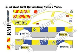Royal Military Police 2-Vauxhall Vectra